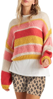 Billabong Soft Wind Stripe Sweater