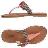 Fendi Toe post sandal