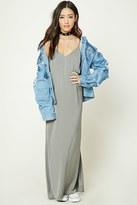 Forever 21 FOREVER 21+ Satin V-Neck Cami Dress