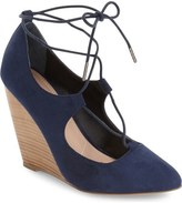 Charles by Charles David Ima Ghillie Lace Wedge (women)