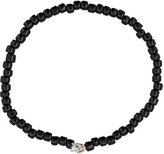 Luis Morais Medium Mini Skull beaded bracelet