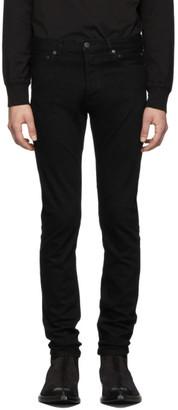 TAKAHIROMIYASHITA TheSoloist. Black Stretch Slim Tapered Jeans