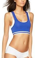Iris & Lilly Women's Sporty Cotton Crop Top