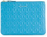 Comme des Garcons embossed zipped purse