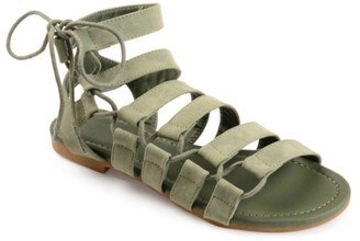 Journee Collection Cleo Gladiator Sandal