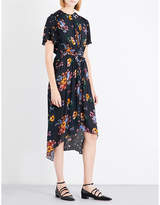 Preen Line Feben floral crepe dress