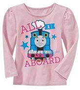 Thomas the Tank Engine Toddler Girls' Thomas the Train Long Sleeve T-Shirt