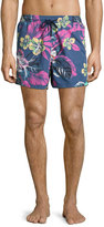 Etro Floral Paisley Swim Trunks, Multi