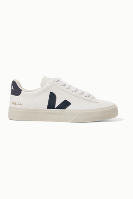 Veja + Net Sustain Campo Leather Sneakers - White