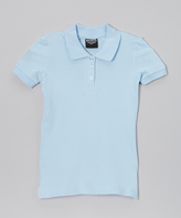 Beverly Hills Polo Club Light Blue Polo - Girls