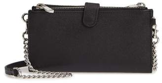 Rebecca Minkoff Bifold Leather Crossbody Wallet