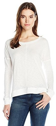 David Lerner Women's High Low Pullover
