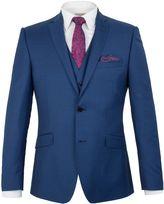 Alexandre Of England Plain Pick And Pick Slim Fit Suit Jacket