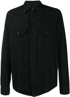 Ami Paris Chest Pockets Overshirt