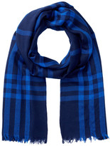 Amicale Lightweight Check Scarf