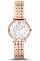 Emporio Armani Mother-of-Pearl Analog Bracelet Watch