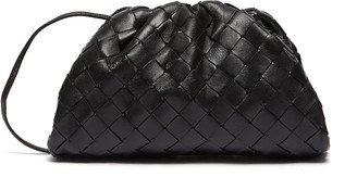 Bottega Veneta 'the Pouch' Woven Leather Clutch