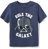 "Old Navy Star Wars Darth Vader ""Rule the Galaxy"" Tee for Toddler"