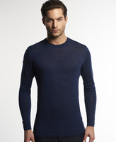 Superdry Call Sheet Merino Crew Neck Sweater
