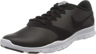 Nike Women WMNS Flex Essential TR Trainers Black-White-Lt Crimson 001 4 (36.5 EU)