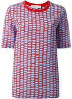 Stella McCartney printed top - women - Silk/Cotton - 40