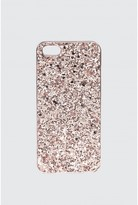 Select Fashion Fashion Womens Pink Rose Gold Glitter Iphone 5 Case - size One