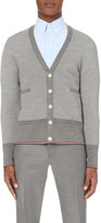 Thom Browne V-neck merino wool cardigan