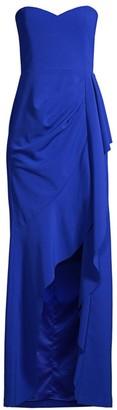 Parker Black Blair Strapless Crepe Gown