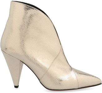 Isabel Marant Metallic Ankle Boots