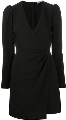 RED Valentino Wraparound-Style Mini Dress