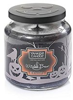 Yankee Candle Candle, Glass and Wax, Black, Witches Brew Jar