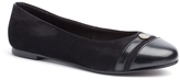 Tommy Hilfiger Mixed Suede Ballet Flat