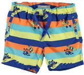 Name It Monkey Printed Swim Shorts