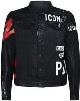Dsquared2 Icon Coated Denim Jacket