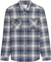 RVCA Neutral Plaid Long-Sleeve Flannel Shirt - Men's
