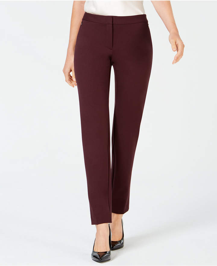 Alfani Zip-Pocket Skinny Pants