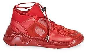 Balmain Men's Josh Low-Top Sock Sneakers