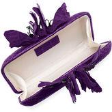Nancy Gonzalez Butterfly Crocodile Box Clutch Bag