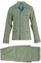 Prada Geometric-print Cotton Pyjama Set