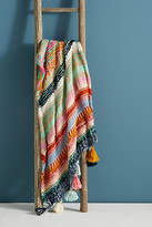 Anthropologie Stitchplay Throw Blanket