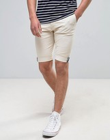 Bellfield Stretch Skinny Chino Short