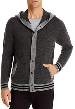 Mills Supply Hooded Cardigan