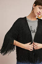 Vanessa Virginia Fringed Long-Sleeve Jacket