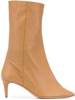 Acne Studios pointed toe mid-heel boots
