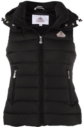 Pyrenex Logo Hooded Gilet Jacket
