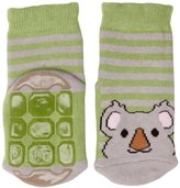 Country Kids Slipper Koala Animal Print Socks