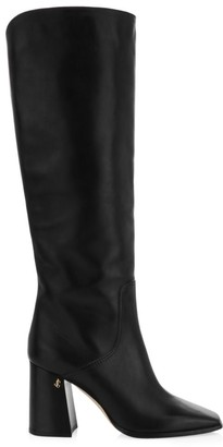 Jimmy Choo Brionne Leather Tall Boots