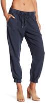 Blank NYC BLANKNYC Grey Expectations Linen Blend Zip Pants