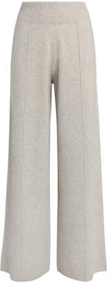 Pringle Cashmere-Wool Wide-Leg Trousers