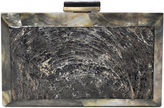 Jo-Liza Collection Solana Clutch, Black/Silver